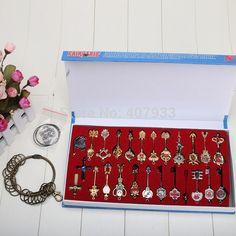 22pcs Keychains Lucy Heartfilla/Fairy Tail
