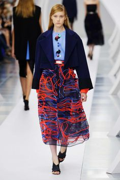 #RoksandaIlincic #2015 #Fashion #Show #ss2015 #lfw #London #Fashionweek via @TheCut