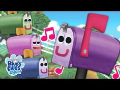 Sing along to the nursery rhyme Old MacDonald with the Mailbox Quartet, Blue and all sorts of farm animal friends! Ft. all the characters from BC&Y!
