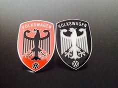 Bonnet eagle volkswagen emblem
