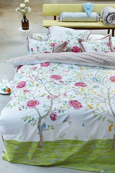 White Morning Glory Duvet Set By Pip Studio from notonthehighstreet.com