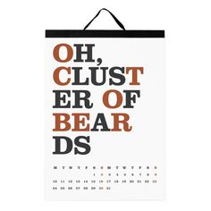 Hidden Word Calendar, $22.50 | 24 Quirky Calendars To Ring In The New Year