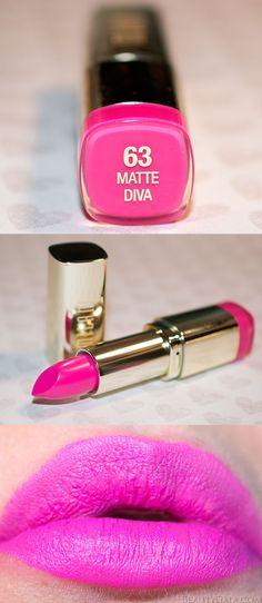 """NEW FOR 2015: Milani Cosmetics Matte Lipstick """"Matte Diva"""" @milanicosmetics"""