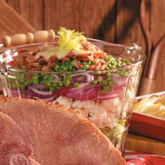 Snortin' Good Salad Recipe -In this make-ahead side dish, you can substitute ingredients to suit your taste or to showcase vegetables in season.