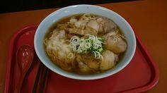 酒田市 月 ワンタン麺
