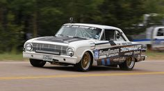 Pikes Peak International Hill Climb 2015-Aaron Kaufman in 1963 Ford Falcon. PHOTO BY MURILEE MARTIN