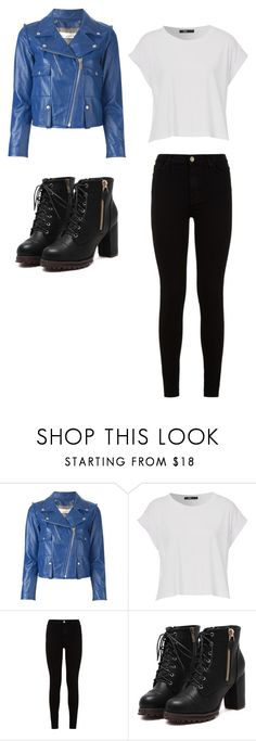 """""""bts run inspired outfit"""" by minhanh-tran on Polyvore featuring Golden Goose and 7 For All Mankind"""