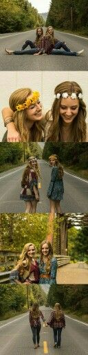 Best Friend photoshop pictures ideas. Bohemian Fashion, boho fashion. Senior picture ideas for girls teens cheerleaders. Flower crown. Hippie    https://bnc.lt/m/vYKU6BNlDm