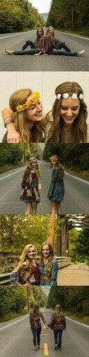 Best Friend photoshop pictures ideas. Bohemian Fashion, boho fashion. Senior picture ideas for girls teens cheerleaders. Flower crown. Hippie    https://bnc.lt/m/vYKU6BNlDm