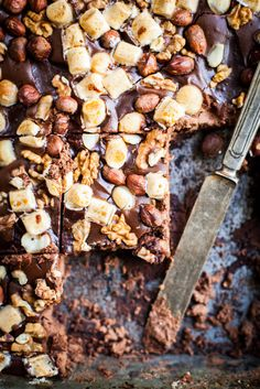 rocky road cheesecake brOwnie