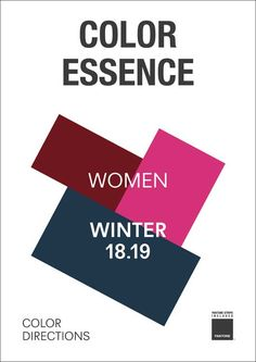 Color Essence Women A/W 2018/2019 | mode...information GmbH Fashion Trend Forecasting and Analysis