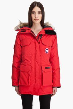 Canada Goose langford parka replica official - Canada Goose Victoria Parka (Berry) | Moda: Outerwear | Pinterest ...