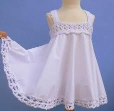 vestidos tela tejido niña - Buscar con Google