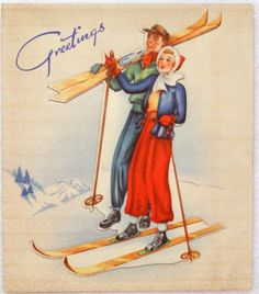 156 Best Vintage Christmas Cards Him Amp Her Images On