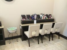 Drying Area Spa Interior, Nail Spa, Envy, Conference Room, Table, Furniture, Home Decor, Decoration Home, Room Decor