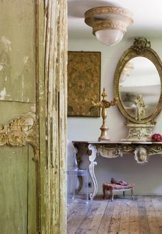 Old World French  This photo and all furniture were designed & created by © Elise Valdorcia all rights reserved 2012 France