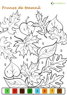 Pin by Annatal on szkice Fall Coloring Pages, Animal Coloring Pages, Printable Coloring Pages, Coloring Pages For Kids, Coloring Books, Spring Crafts For Kids, Art For Kids, Leather Tooling Patterns, Color By Numbers