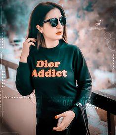 Dior Addict, Jennifer Winget, Stylish Girl Images, Girls Dpz, Best Actress, Girls Image, Sweet Girls, Cover Photos, Graphic Sweatshirt