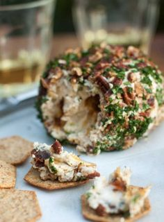Cheese ball recipes, blue cheese ball recipe, steamed green beans, date b. Sauces, Tapas, Steamed Green Beans, Roasted Pecans, Blue Cheese, Goat Cheese, Cheddar Cheese, Apple Chips, Cheese Ball Recipes