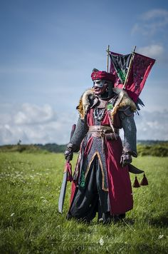 Tulamide / Maraskan / Oriental Haradrim / post apocalyptic inspiration / Eastern inspired / men's fashion / cosplay / costume / LARP / swordsman / warrior