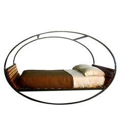 Nap time! Shiner International Mood Queen Rocking Bed