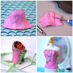 Let's Make a Blythe Corset (part 3) | Flickr - Photo Sharing!