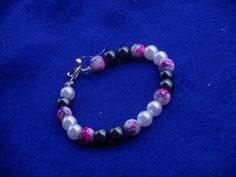 Pearls bracelet three different colors of by CJhandmadeJewelry
