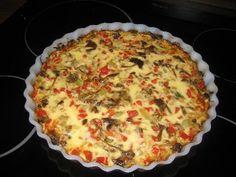 Quiche, Pie, Baking, Breakfast, Desserts, Recipes, Food, Torte, Morning Coffee