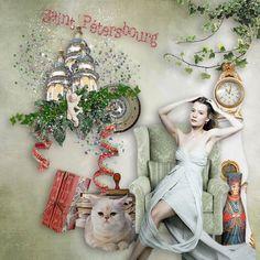 Saint-Petersbourg - Bundle de Mariscrap et Didou Scrap - CLiquez sur l'image pour la fermer