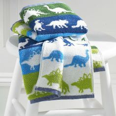 Bambini Dino Park by Kassatex - 100% Egyptian Cotton Printed Kids Towels (Bath Towel) CassaDecor http://www.amazon.com/dp/B00GULCSF8/ref=cm_sw_r_pi_dp_mVJQtb0SGV5MFJV4