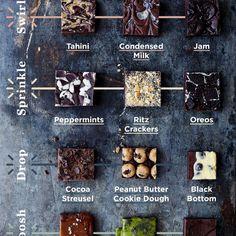 12 Ways to Customize Your Brownies