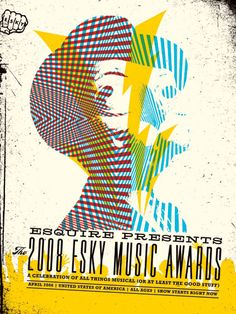 Illustration for the 2008 Esky Awards for Esquire Magazine. Aesthetic Apparatus.