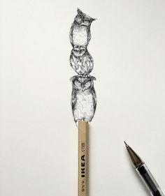 Ilustrações incríveis feitas com caneta preta