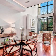 Floor to ceiling windows and gleaming hardwood floors   Sold: 3609 R St NW $2250000 3 BR | 4 FB | 2839 SF Sold by Debbie Cohen  202.288.9939  #bethesdagatewaysales #soldhomes #realestate #luxury #dc
