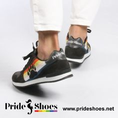 Bear Pride Shoes. Made in Spain. LGBT bear shoes to show your Bear Pride
