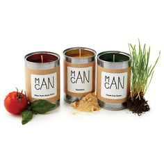 MAN CANDLES - ORIGINAL | Man Cans, Scented Candles for Men | UncommonGoods