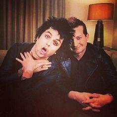 Billie Joe and Tré Cool!