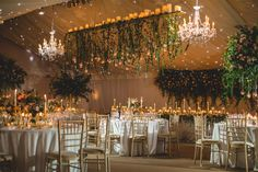 marquee decor by red floral  by Tobiah Tayo Photography
