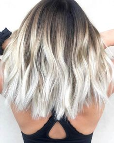 Summer hair color trends to know for from blonde to brunette, . - Summer hair color trends to know for from blonde to brunette, rose gold, … - Cool Blonde Hair, Hair Color For Black Hair, Cool Hair Color, Blonde Brunette, Summer Brunette, White Ombre Hair, Black Roots Blonde Hair, Gold Blonde, Hair Colors For Summer