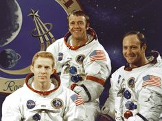 There were 3 astronauts on board including the sneaky Alan Shepard. Description from know4now.com. I searched for this on bing.com/images
