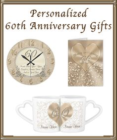 Affordable And Stunning Customizable Gifts Ideas For 60th Wedding Anniversary Click Here Http