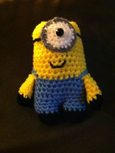 My sister crocheted this adorable minion from Ravelry. I love it!