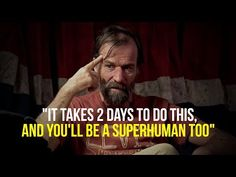 """It Takes 2 Days To Do This, And You'll be A Superhuman Too!"" The Iceman Wim Hof. ►►►If you struggle and have a hard time, consider taking an online therapy . Wim Hof, Spiritual Awakening Stages, Focus Your Mind, Thing 1, Manifesting Money, Mind Power, Breathing Techniques, Daily Motivation, Morning Motivation"
