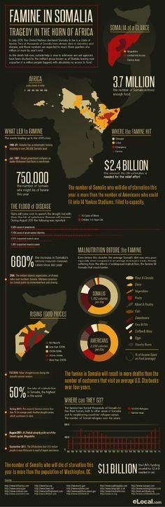 Famine Continues in Somalia (Infographic)
