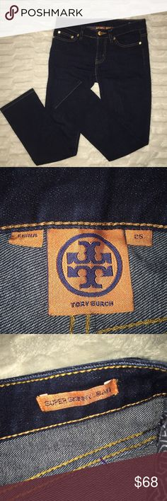 Tory Burch Super skinny jeans 25 NEW NWOT 0 Perfect condition. These have only been tried on. Size 25, which is the same as a 0 Tory Burch Jeans Skinny