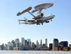 Spock puts the Enterprise in NY