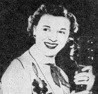 Linda Lou Stone, original central PA old time country music DJ.  Hillbilly-Music.com - Linda Lou Stone