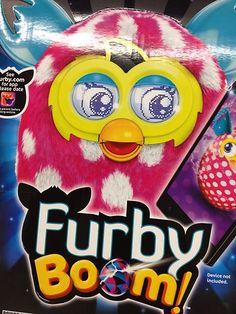 New FURBY BOOM Pink White Polka Dots Dot Polkadots 2013 Interactive Christmas #furbyboom #furby #gifts #christmas