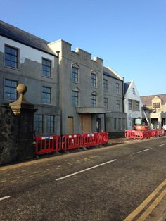 Soon to reopen - Ballygally Castle on the Antrim Coast has under gone a 3 million pound refurbishment!