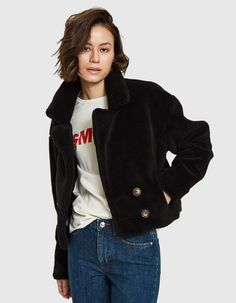 Cropped jacket from Farrow in Black